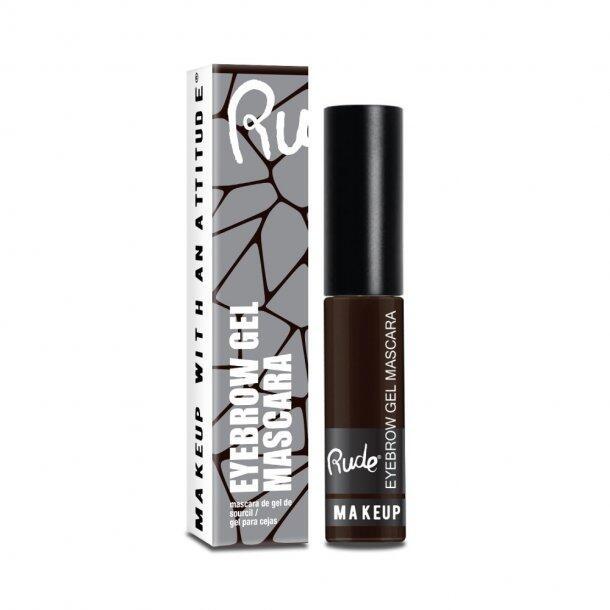 RUDE Cosmetics Eyebrow Gel Mascara - Choco Brown