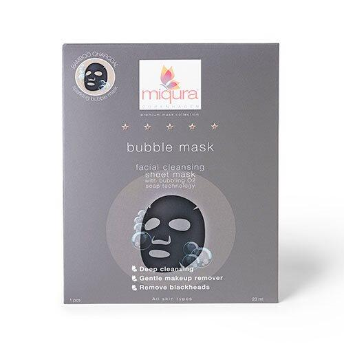 Miqura Bubble mask, 23ml