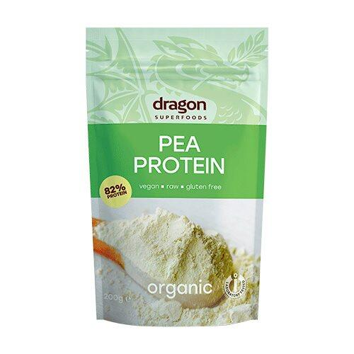 Dragon Superfoods Ærteproteinpulver Ø, 200g