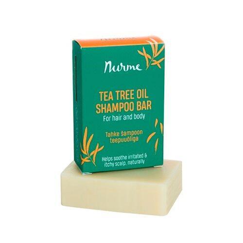 Nurme Shampoobar Tea Tree for Hair & Body, 100g