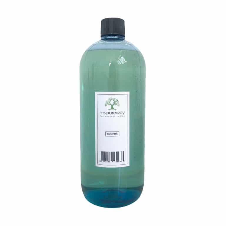 Genanvendelig PET Flaske Gulvvask, 1000ml.