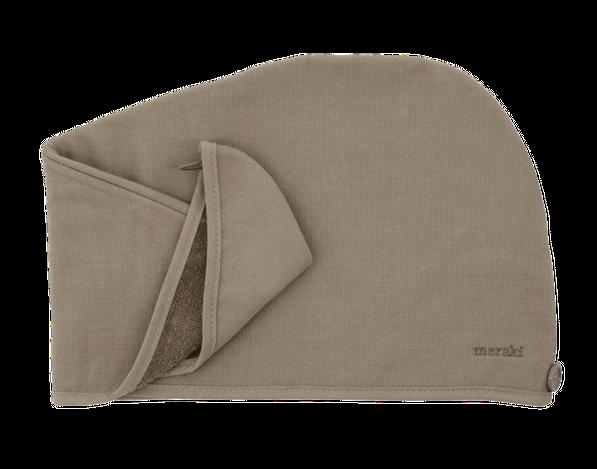 Meraki Hår Håndklæde Lunaria Varm Grå