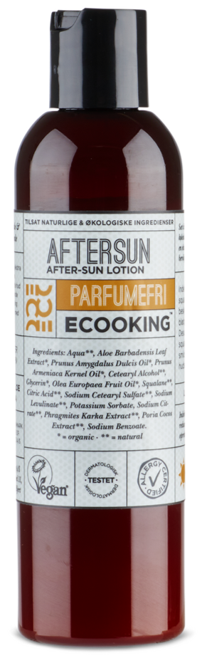 Ecooking Aftersun Parfumefri, 200ml.