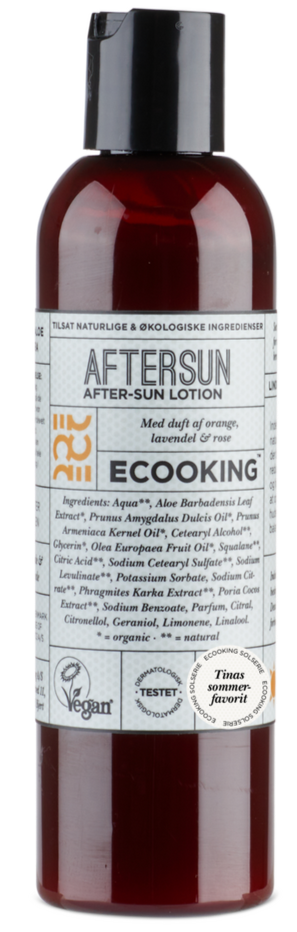 Ecooking Aftersun 01 med duft, 200ml.