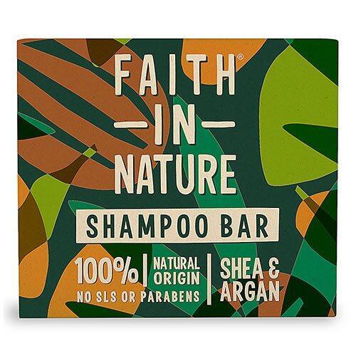 Faith in Nature Shampoo bar Shea & Argan, 85g.