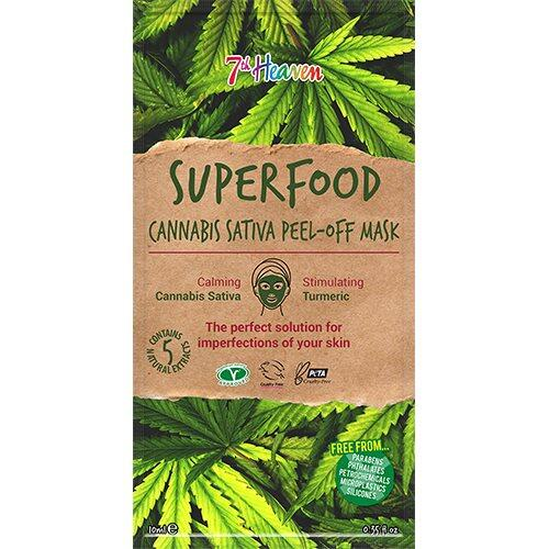 7th Heaven Ansigtsmaske Superfood Canabis Sativa, 10ml