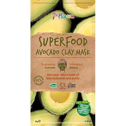 7th Heaven Ansigtmaske Superfood Avocado, 10g