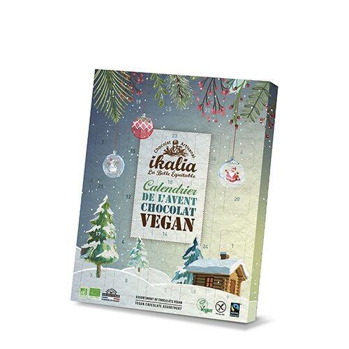Chokolade Julekalender vegansk Ø