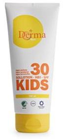 Derma Kids Sollotion spf 30 Høj, 200ml.