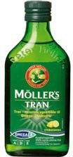 Møllers Tran med citrus smag, 250ml.