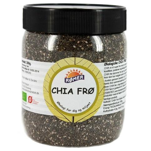 Chia frø Økologisk, 250g.